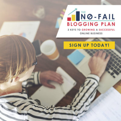 no fail blogging plan by elite blog academy
